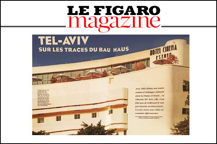 Sur Les Traces Du Bau Haus / le figaro magazin/2018