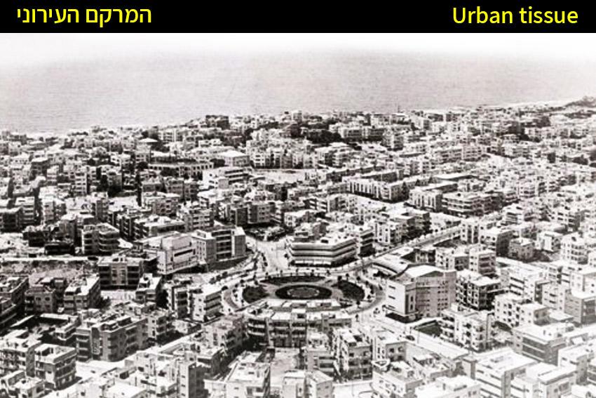 המרקם העירוני