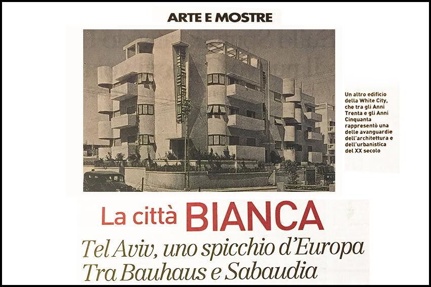 ARTE E MOSTRE / LA CITTA' BIANCA